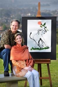 Liz Allen and Mark Fangue, founders of ExoticWorldGifts.com