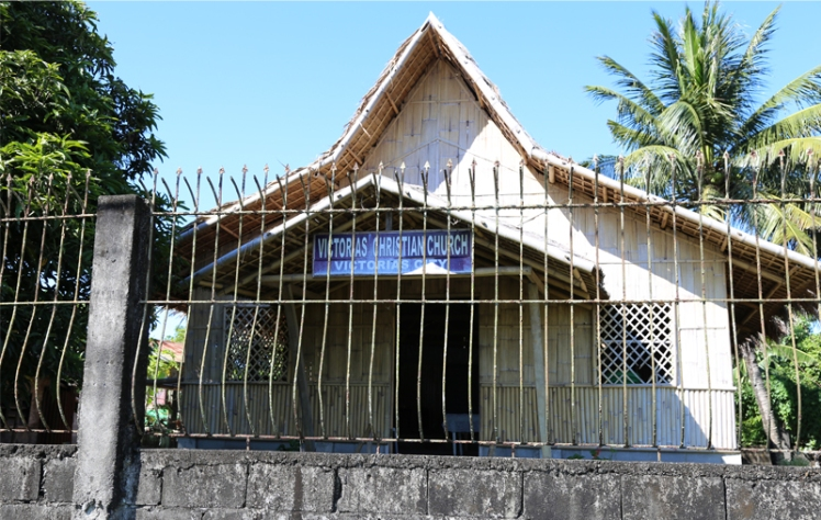 Missionary Church on Bacolod Philippines